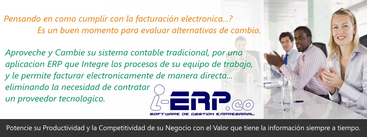 i-ERP.co - SUITE DE GESTION EMPRESARIAL INTEGRADA