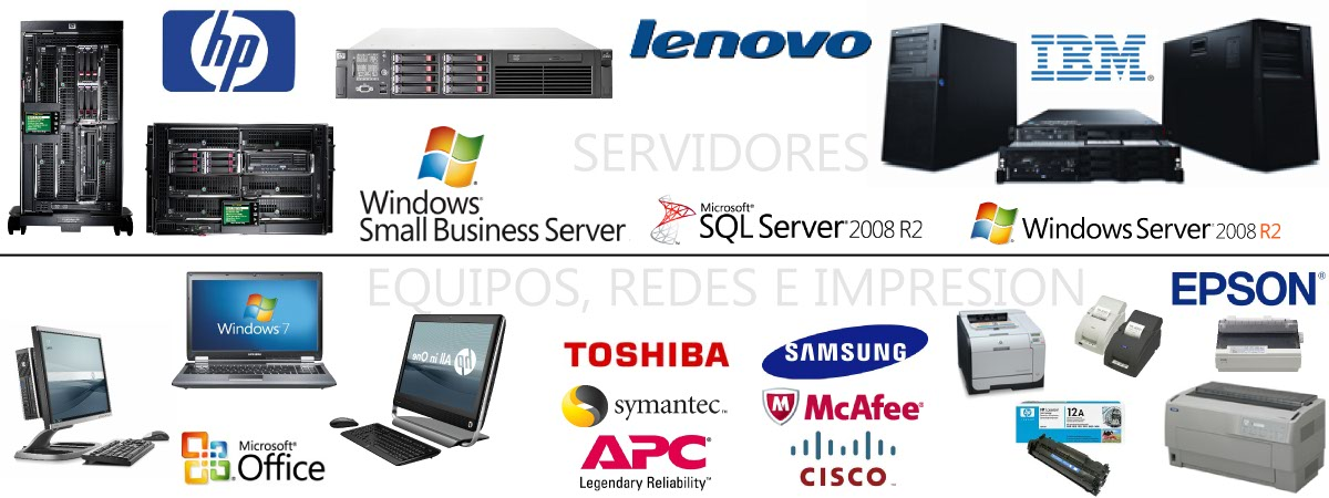 HARDWARE - SOFTWARE COMERCIAL - CONSUMIBLES ORIGINALES